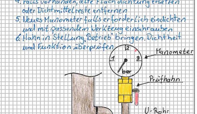 Formulare & Vordrucke berichtsheft Anlagenmechaniker SHK